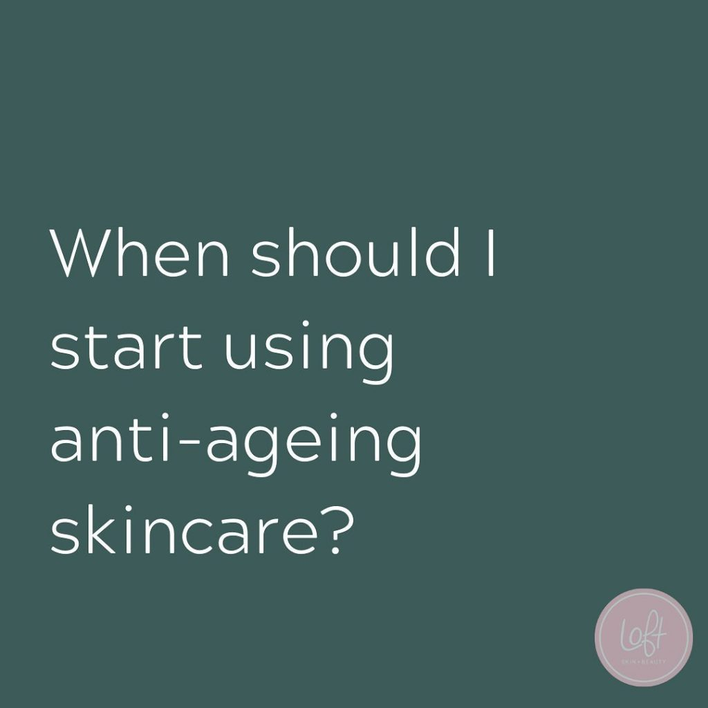 When should I start using anti-ageing skincare?